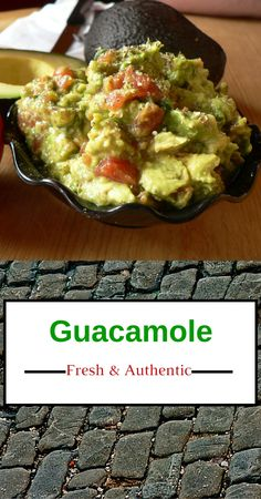 Simple way to make the best authentic guacamole. Here in the southwest we are fortunate to have so much good, authentic food from Mexico & Latin America. And this is my favorite authentic guacamole recipe