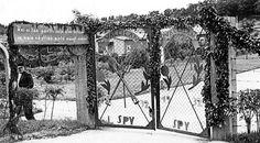 1937: Vallilan siirtolapuutarhan portit toivottivat vieraat tervetulleiksi.