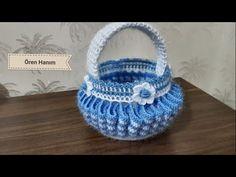 Cestino Uncinetto Tutorial - Small Basket Crochet - YouTube