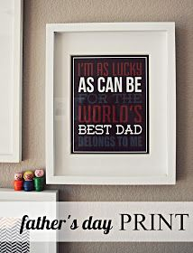 eighteen25: Father's Day Print