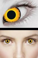 Great contacts for cosplay ellie!  £19.95.  Orange Werewolf 3M Contact Lenses by XtremeEyez