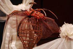 """Modello """"Rose""""#creazioni #hats #matrimonio #sposa #cerimonie #cappello"""