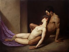 Roberto Ferri. Il Sepolcro Degli Amanti (The Tomb of Lovers). 2014.