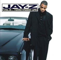 On 'Vol. Hard Knock Life,' it makes no difference whether Jay-Z samples 'Annie' or Talking Heads — Jigga makes every track his own with massive boasts, state-of-the-art flows, vivid underworld portraits drawn in a handful of words. Jay Z Albums, Rap Albums, Hip Hop Albums, Best Albums, Music Albums, Greatest Albums, East Coast Hip Hop, Hiphop, Ja Rule