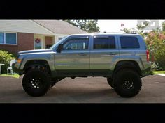 Straight axle jeep patriot