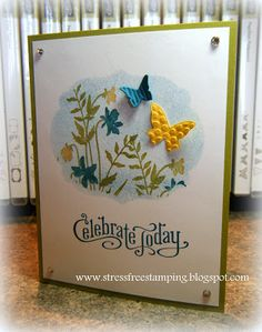 Stampin' Up! Card  by Shana Gaff at Stress-Free Stamping with Shana