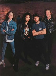 Jason Newsted/Kirk Hammett/Lars Ulrich/James Hetfield