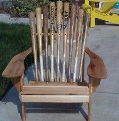 I want to do this and add a baseball cushion. Yankees of course!