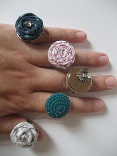 Base and Bling rings from CTMH!