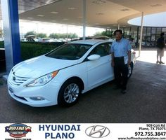 #HappyAnniversary to Steve Watson on your 2013 #Hyundai #Sonata from Frank White at Huffines Hyundai Plano!