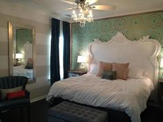 French Style Style Headboard