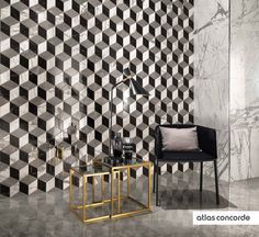 #MARVELPRO mosaico esagono multicolor cold | #AtlasConcorde | #Tiles | #Ceramic | #PorcelainTiles