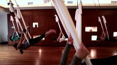 Antigravity yoga - I always wanted to try it and I finally did. It was ridiculously fun!