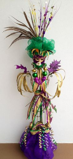 #Mardi Gras, runway-style? Nailed it!