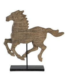 Look what I found on #zulily! Galloping Horse Décor #zulilyfinds