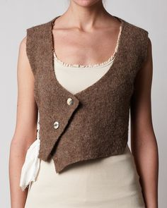 Ewa i Walla Webshop - 33127 - Vest Needs to be longer, cooler buttons