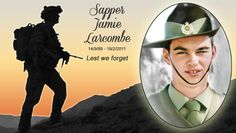 "As ANZAC DAY comes around to remind us of all those who have given the supreme sacrifice to keep us free, The Islander honours and remembers Sapper Jamie Larcombe, Kangaroo Island's bravest and most beautiful boy. We thank you, Jamie for our freedom. ""An 'Avenue' for Jamie"" read the full story online now: http://www.theislanderonline.com.au/story/1454286/an-avenue-for-jamie/?cs=1273"