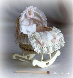 Miniature Baby Cradle