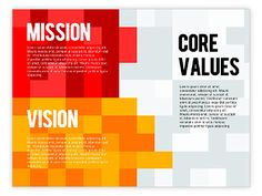 Bright and clear Mission, Vision and Core Values Diagram is dedicated to presentations on company profile, company mission and goal, company presentation, business planning, stake holders report, etc. You could show and compare data of your funds, employees resources, to describe your strategy management, your objectives and plans. http://www.poweredtemplate.com/powerpoint-diagrams-charts/ppt-business-models-diagrams/01242/0/index.html