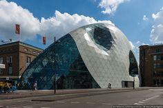 A futuristic store at Eindhoven