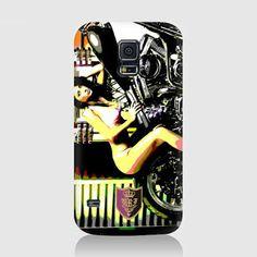 URI ART: BADASS BABE Hardcase for Samsung Galaxy S5