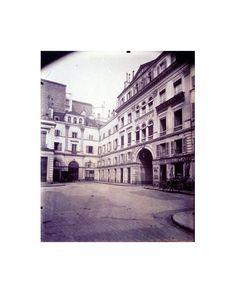 Eugène Atget, Cité du Retiro 35 Rue Boissy d'Anglas (8e)