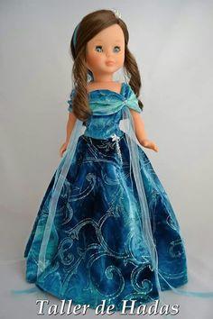 Nancy American Girl Clothes, Girl Doll Clothes, Barbie Clothes, Girl Dolls, Baby Dolls, Pretty Dolls, Beautiful Dolls, Vestidos Nancy, Doll Fancy Dress