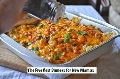 Spice and Sass: My Five Best Baby Dinners