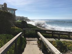 Cambria California, Stairs, Beach, Water, Outdoor, Decor, Stairways, Water Water, Dekoration