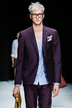 hautekills:  Benjamin Jarvis atAndrea Pompilio menswear s/s 2014