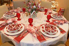 Christmas Breakfast Tablescape