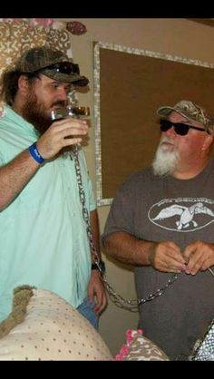 Duck Dynasty Martin and Godwin