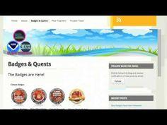 Digital Badges & Mozilla's Open Badge Backpack - YouTube