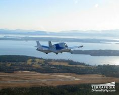 Terrafugia's Transition flying car made its first flight earlier in March, a step toward what it hopes will be commercial availability within the next year. #flyingcars I NEED THIS!!!