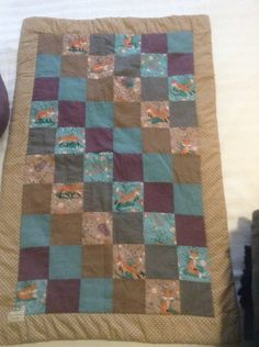 My first quilting class end product.
