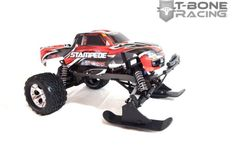 T-BONE RACING SNOW SKIS FOR TRAXXAS STAMPEDE 2WD