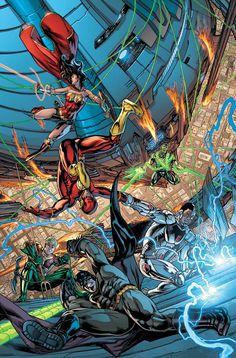 COMICS CONTINUUM fictional character - Liga da Justiça