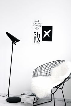 Via NordicDays.nl | FriChic | Bertoia Diamond Chair | Nordic