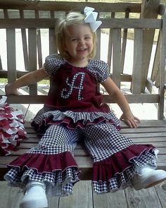 Peasant Outfit Alabama by OriginalSewVerySweet on Etsy, $45.00