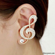 Music design earring