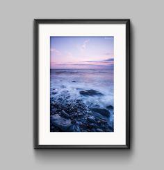 Sunset Seascape Landscape Fine Art Photograph — Manchester, Yorkshire, Lake & Peak District landscape photography shop by Paul Grogan Photography