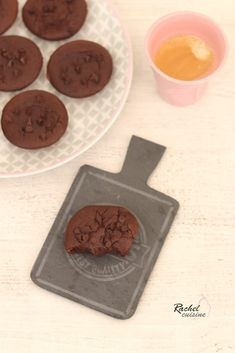 Fondants au chocolat légers, sans beurre (potiron)