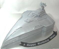 Star Wars Spaceship Boys Birthday Cake by www.carryscakes.com.au Boy Birthday, Birthday Cakes, Happy Birthday, Cupcake Cakes, Cupcakes, Star Wars Spaceships, Stars, Boys, Happy Brithday