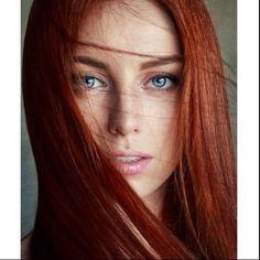 Mahogany Hair shades of red hair