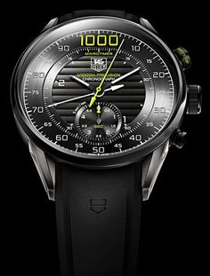 Tag Heuer Concept Watch measures 1/1,000th of a second..........not for sale