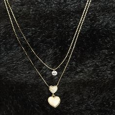 Trendy!! Double Chain Necklace