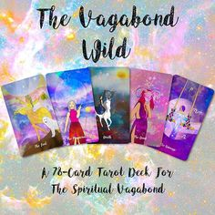 104 Best The Vagabond Wild Tarot 1st Edition images in 2019