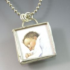 Shadowbox pendant by jeannie phillips soldered china broken china baby soldered pendant by xohandworks 20 aloadofball Images