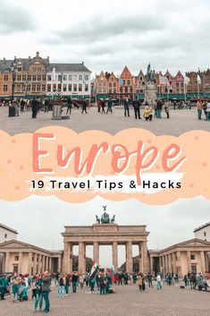 travel idea backpacking Planning a long trip through Europe is tough. Here are my Europe travel tips and hacks to ensure you enjoy this trip of a lifetime. Air Travel Tips, European Travel Tips, Iceland Travel Tips, Italy Travel Tips, Cuba Travel, Europe Travel Guide, Ways To Travel, Packing Tips For Travel, Mexico Travel