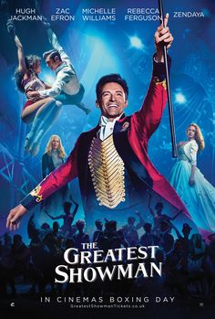 nice Win 'The Greatest Showman' Movie Merchandise